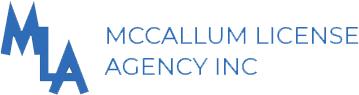 McCallum License Agency Logo